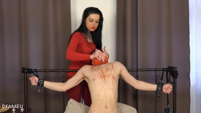 Photo number 9 from Trapped shot for cfnmeu on Kink.com. Featuring Jirka Syty and Pidzemellya Hospodynya in hardcore BDSM & Fetish porn.