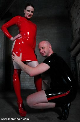 Photo number 1 from Claire Adams and Patrick Andraste shot for Men In Pain on Kink.com. Featuring Patrick Andraste and Claire Adams in hardcore BDSM & Fetish porn.