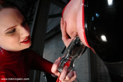 Photo number 3 from Claire Adams and Patrick Andraste shot for Men In Pain on Kink.com. Featuring Patrick Andraste and Claire Adams in hardcore BDSM & Fetish porn.