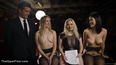 Photo number 16 from Drooling Electro Slut & The Anal Whore Serve a BDSM Orgy shot for The Upper Floor on Kink.com. Featuring Ramon Nomar, Kendra Spade, Riley Reyes and Aiden Starr in hardcore BDSM & Fetish porn.