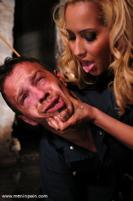 Photo number 4 from Isis Love and Billy shot for Men In Pain on Kink.com. Featuring Billy and Isis Love in hardcore BDSM & Fetish porn.