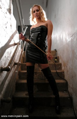 Photo number 2 from Isis Love and Billy shot for Men In Pain on Kink.com. Featuring Billy and Isis Love in hardcore BDSM & Fetish porn.