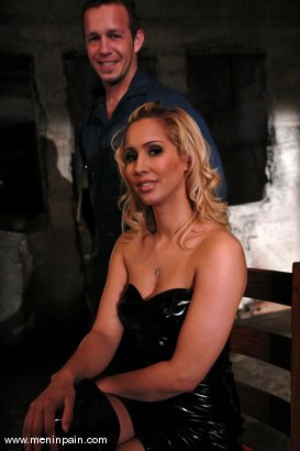 Photo number 1 from Isis Love and Billy shot for Men In Pain on Kink.com. Featuring Billy and Isis Love in hardcore BDSM & Fetish porn.