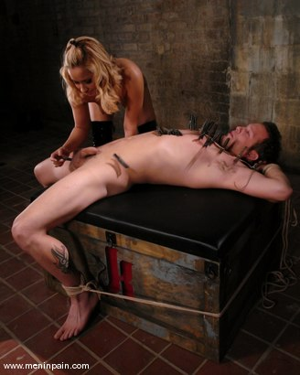 Photo number 10 from Isis Love and Billy shot for Men In Pain on Kink.com. Featuring Billy and Isis Love in hardcore BDSM & Fetish porn.
