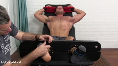 Photo number 3 from Alex Mecum Tickled Naked shot for My Friends Feet on Kink.com. Featuring Alex Mecum and Rich in hardcore BDSM & Fetish porn.