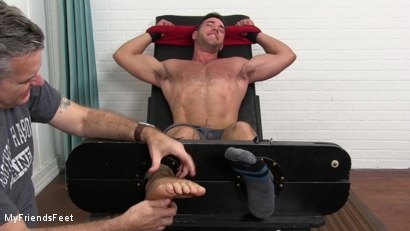 Photo number 4 from Alex Mecum Tickled Naked shot for My Friends Feet on Kink.com. Featuring Alex Mecum and Rich in hardcore BDSM & Fetish porn.