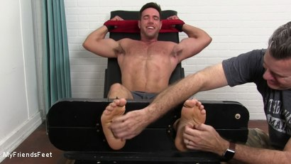 Photo number 5 from Alex Mecum Tickled Naked shot for My Friends Feet on Kink.com. Featuring Alex Mecum and Rich in hardcore BDSM & Fetish porn.
