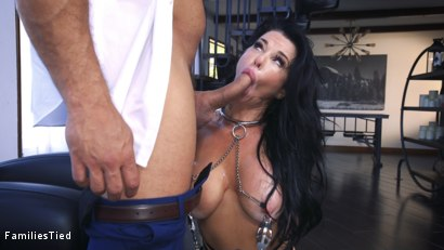 Photo number 3 from The Nymphomaniac's Lil Sister: Veronica Avluv Returns shot for  on Kink.com. Featuring Veronica Avluv, Victoria Voxxx and Ramon Nomar in hardcore BDSM & Fetish porn.