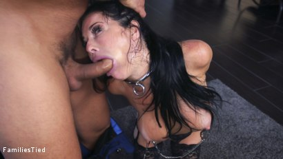 Photo number 4 from The Nymphomaniac's Lil Sister: Veronica Avluv Returns shot for  on Kink.com. Featuring Veronica Avluv, Victoria Voxxx and Ramon Nomar in hardcore BDSM & Fetish porn.