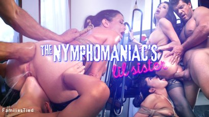 Photo number 33 from The Nymphomaniac's Lil Sister: Veronica Avluv Returns shot for  on Kink.com. Featuring Veronica Avluv, Victoria Voxxx and Ramon Nomar in hardcore BDSM & Fetish porn.