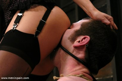 Photo number 5 from Sativa Rose and Nomad shot for Men In Pain on Kink.com. Featuring Sativa Rose and Nomad in hardcore BDSM & Fetish porn.
