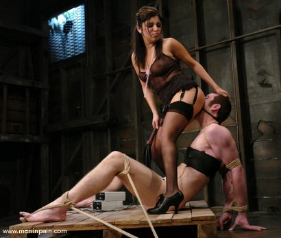 Photo number 4 from Sativa Rose and Nomad shot for Men In Pain on Kink.com. Featuring Sativa Rose and Nomad in hardcore BDSM & Fetish porn.