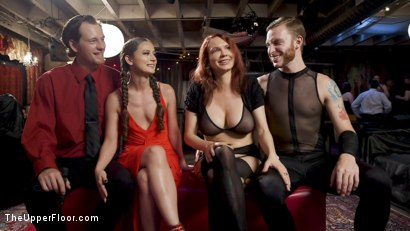 Photo number 31 from The Anal Submissive MILF And The Big-Titted 19 Year Old shot for The Upper Floor on Kink.com. Featuring Aiden Starr, Donny Sins, London River and Amilia Onyx in hardcore BDSM & Fetish porn.