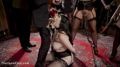 Photo number 5 from The Anal Submissive MILF And The Big-Titted 19 Year Old shot for The Upper Floor on Kink.com. Featuring Aiden Starr, Donny Sins, London River and Amilia Onyx in hardcore BDSM & Fetish porn.