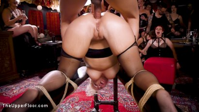 Photo number 19 from Anal MILF And Busty Teen Service The BDSM Swinger Orgy shot for The Upper Floor on Kink.com. Featuring Aiden Starr, Donny Sins, London River and Amilia Onyx in hardcore BDSM & Fetish porn.