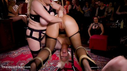 Photo number 23 from Anal MILF And Busty Teen Service The BDSM Swinger Orgy shot for The Upper Floor on Kink.com. Featuring Aiden Starr, Donny Sins, London River and Amilia Onyx in hardcore BDSM & Fetish porn.
