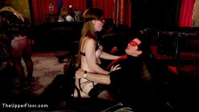 Photo number 19 from Teen Anal Slut Turned Out For Service at BDSM Swinger Soiree shot for The Upper Floor on Kink.com. Featuring Aiden Starr, Donny Sins, Arabelle Raphael and Chloe Cherry in hardcore BDSM & Fetish porn.