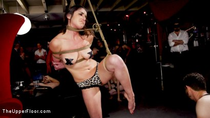 Photo number 20 from Teen Anal Slut Turned Out For Service at BDSM Swinger Soiree shot for The Upper Floor on Kink.com. Featuring Aiden Starr, Donny Sins, Arabelle Raphael and Chloe Cherry in hardcore BDSM & Fetish porn.