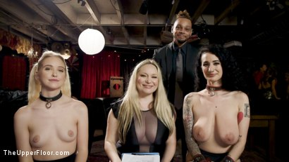 Photo number 28 from Teen Anal Slut Turned Out For Service at BDSM Swinger Soiree shot for The Upper Floor on Kink.com. Featuring Aiden Starr, Donny Sins, Arabelle Raphael and Chloe Cherry in hardcore BDSM & Fetish porn.