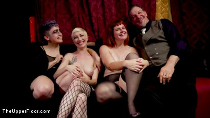 Photo number 30 from Anal Sluts Tied Down for Service at BDSM Swinger Party shot for The Upper Floor on Kink.com. Featuring Aiden Starr, Donny Sins, Chloe Cherry and Arabelle Raphael in hardcore BDSM & Fetish porn.