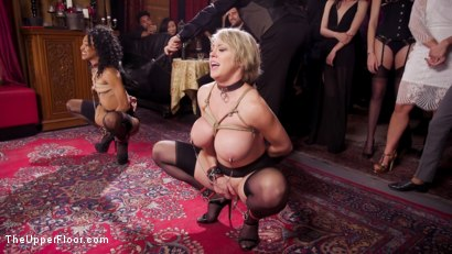 Photo number 2 from Well Trained Anal Sluts Service Folsom Orgy shot for The Upper Floor on Kink.com. Featuring Nikki Darling, Donny Sins and Dee Williams in hardcore BDSM & Fetish porn.
