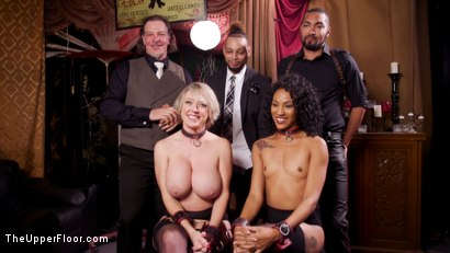 Photo number 26 from Well Trained Anal Sluts Service Folsom Orgy shot for The Upper Floor on Kink.com. Featuring Nikki Darling, Donny Sins and Dee Williams in hardcore BDSM & Fetish porn.