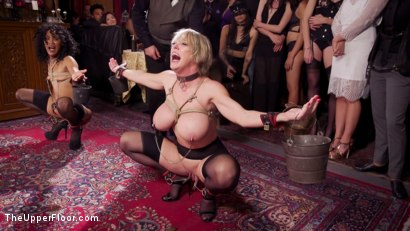 Photo number 5 from Well Trained Anal Sluts Service Folsom Orgy shot for The Upper Floor on Kink.com. Featuring Nikki Darling, Donny Sins and Dee Williams in hardcore BDSM & Fetish porn.