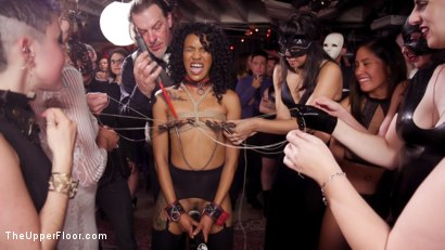 Photo number 8 from Well Trained Anal Sluts Service Folsom Orgy shot for The Upper Floor on Kink.com. Featuring Nikki Darling, Donny Sins and Dee Williams in hardcore BDSM & Fetish porn.