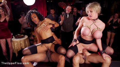 Photo number 14 from Squirting DP Anal Sluts Serve the Folsom Orgy shot for The Upper Floor on Kink.com. Featuring Dee Williams, Nikki Darling and Donny Sins in hardcore BDSM & Fetish porn.