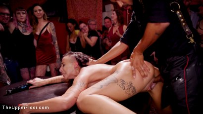 Photo number 32 from Squirting DP Anal Sluts Serve the Folsom Orgy shot for The Upper Floor on Kink.com. Featuring Dee Williams, Nikki Darling and Donny Sins in hardcore BDSM & Fetish porn.
