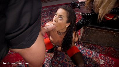 Photo number 4 from The Selfish Anal Slut and The Selfless Electro Servant shot for The Upper Floor on Kink.com. Featuring Aiden Starr, Kira Noir, Ramon Nomar and Penny Pax in hardcore BDSM & Fetish porn.