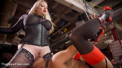 Photo number 16 from The Selfish Anal Slut and The Selfless Electro Servant shot for The Upper Floor on Kink.com. Featuring Aiden Starr, Kira Noir, Ramon Nomar and Penny Pax in hardcore BDSM & Fetish porn.