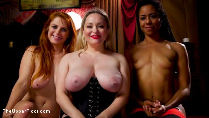 Photo number 25 from BDSM Swinger Orgy Served by the Anal Servant Girls shot for The Upper Floor on Kink.com. Featuring Aiden Starr, Kira Noir, Penny Pax and Ramon Nomar in hardcore BDSM & Fetish porn.