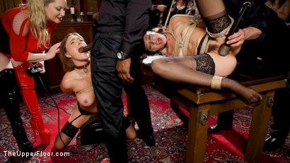 Photo number 31 from Teen Whore Trained in Anal Bondage By MILF Sex Servant shot for The Upper Floor on Kink.com. Featuring Aiden Starr, Rob Piper, Krissy Lynn and Avi Love in hardcore BDSM & Fetish porn.