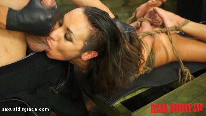 Photo number 8 from Isa Mendez #1 Sexual Disgrace Attitude Adjustment shot for Sexual Disgrace on Kink.com. Featuring Bruno Dickemz and Isa Mendez in hardcore BDSM & Fetish porn.