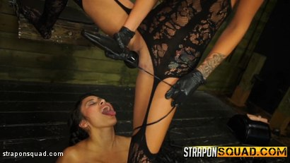 Photo number 17 from Marina Angel Loves Lesbian Domination & Sybian with Esmi Lee shot for Strapon Squad on Kink.com. Featuring Esmi Lee and Marina Angel in hardcore BDSM & Fetish porn.