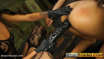 Photo number 7 from Marina Angel Loves Lesbian Domination & Sybian with Esmi Lee shot for Strapon Squad on Kink.com. Featuring Esmi Lee and Marina Angel in hardcore BDSM & Fetish porn.