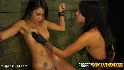 Photo number 10 from Marina Angel Loves Lesbian Domination & Sybian with Esmi Lee shot for Strapon Squad on Kink.com. Featuring Esmi Lee and Marina Angel in hardcore BDSM & Fetish porn.