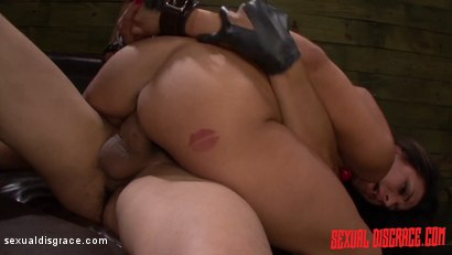 Photo number 18 from Horny Slut Isa Mendez Earns First Slave Training with Rough Sex & Bondage shot for Sexual Disgrace on Kink.com. Featuring Bruno Dickemz and Isa Mendez in hardcore BDSM & Fetish porn.