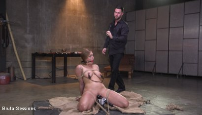 Photo number 1 from Skylar Snow's Abject Anal Invasion shot for Brutal Sessions on Kink.com. Featuring Skylar Snow  and Seth Gamble in hardcore BDSM & Fetish porn.