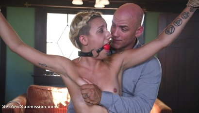Photo number 1 from The Liar shot for Sex And Submission on Kink.com. Featuring Derrick Pierce and Sophia Grace in hardcore BDSM & Fetish porn.