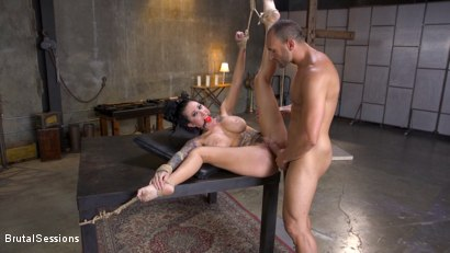 Photo number 22 from Squirting Submission: Lily Lane Squirt Fucked In Inescapable Bondage shot for Brutal Sessions on Kink.com. Featuring Lily Lane and Stirling Cooper in hardcore BDSM & Fetish porn.