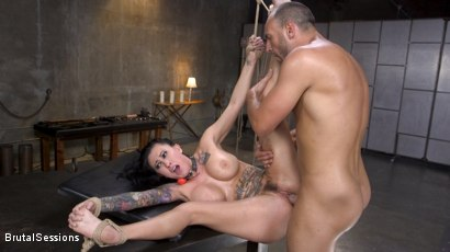 Photo number 24 from Squirting Submission: Lily Lane Squirt Fucked In Inescapable Bondage shot for Brutal Sessions on Kink.com. Featuring Lily Lane and Stirling Cooper in hardcore BDSM & Fetish porn.