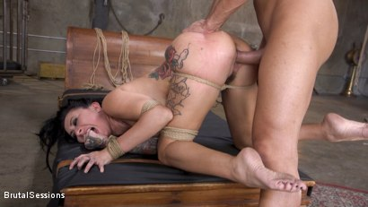 Photo number 34 from Squirting Submission: Lily Lane Squirt Fucked In Inescapable Bondage shot for Brutal Sessions on Kink.com. Featuring Lily Lane and Stirling Cooper in hardcore BDSM & Fetish porn.