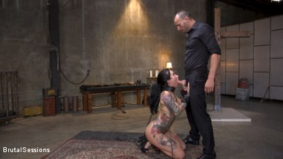Photo number 8 from Squirting Submission: Lily Lane Squirt Fucked In Inescapable Bondage shot for Brutal Sessions on Kink.com. Featuring Lily Lane and Stirling Cooper in hardcore BDSM & Fetish porn.