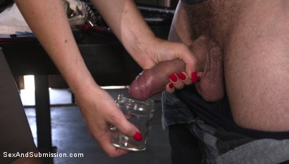 Photo number 1 from Anal Officer shot for Sex And Submission on Kink.com. Featuring Mr. Pete and Krissy Lynn in hardcore BDSM & Fetish porn.
