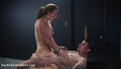 Photo number 15 from Anal Officer shot for Sex And Submission on Kink.com. Featuring Mr. Pete and Krissy Lynn in hardcore BDSM & Fetish porn.