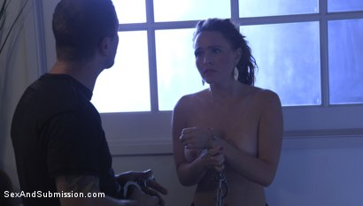 Photo number 4 from Anal Officer shot for Sex And Submission on Kink.com. Featuring Mr. Pete and Krissy Lynn in hardcore BDSM & Fetish porn.