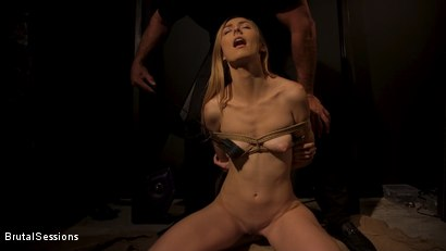 Photo number 7 from Skinny Blonde Slut Alexa Grace in Sadistic Rope Bondage Pussy Fucking! shot for Brutal Sessions on Kink.com. Featuring Ramon Nomar and Alexa Grace in hardcore BDSM & Fetish porn.