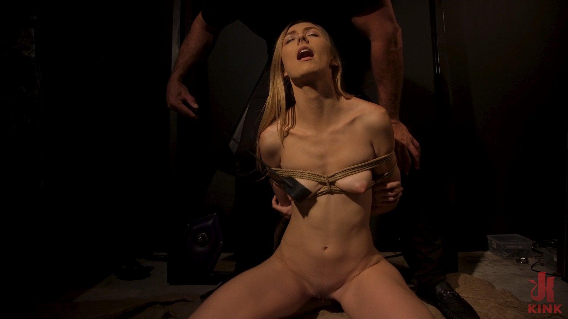 Photo number 7 from Skinny Blonde Slut Alexa Grace in Sadistic Rope Bondage Pussy Fucking! shot for Brutal Sessions on Kink.com. Featuring Ramon Nomar and Alexa Grace in hardcore BDSM & Fetish porn.